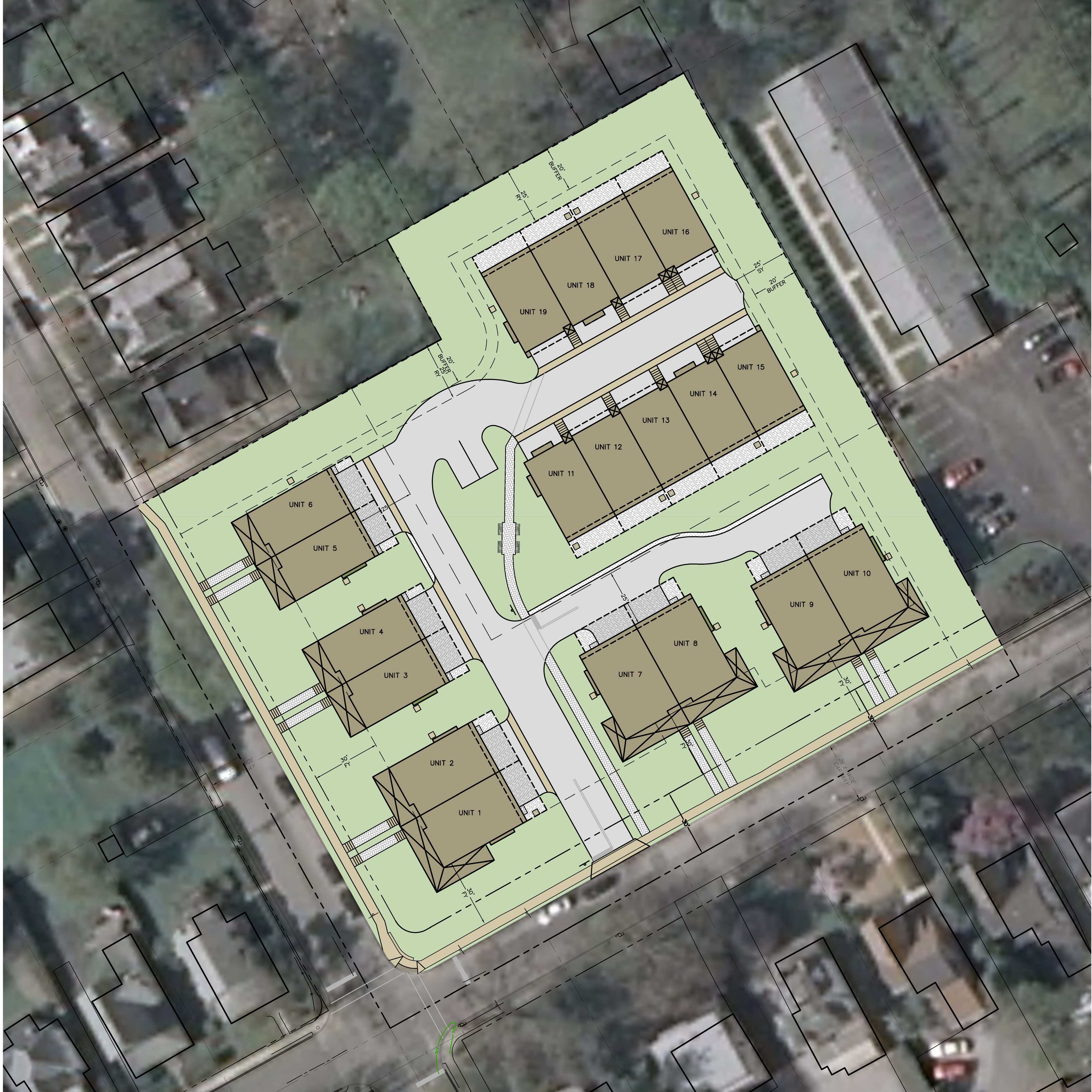 Twin and Townhouse Development